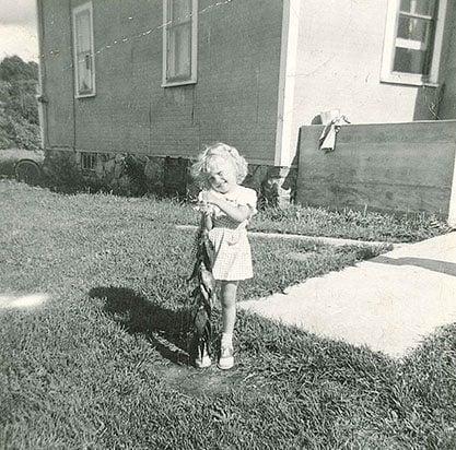 Donna Salli When She Was A Child